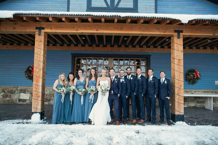 Wedding Party wedding photo idea | fabmood.com