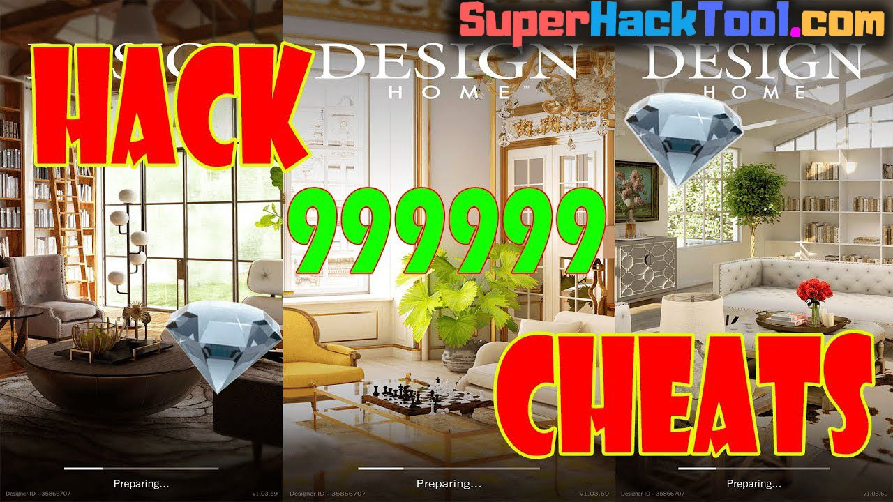 No Survey Design Home Hack Apk Get Unlimited Cash Diamonds And Keys Design Home Hack And Cheats Design Home Hac Design Home Hack Home Hacks House Design