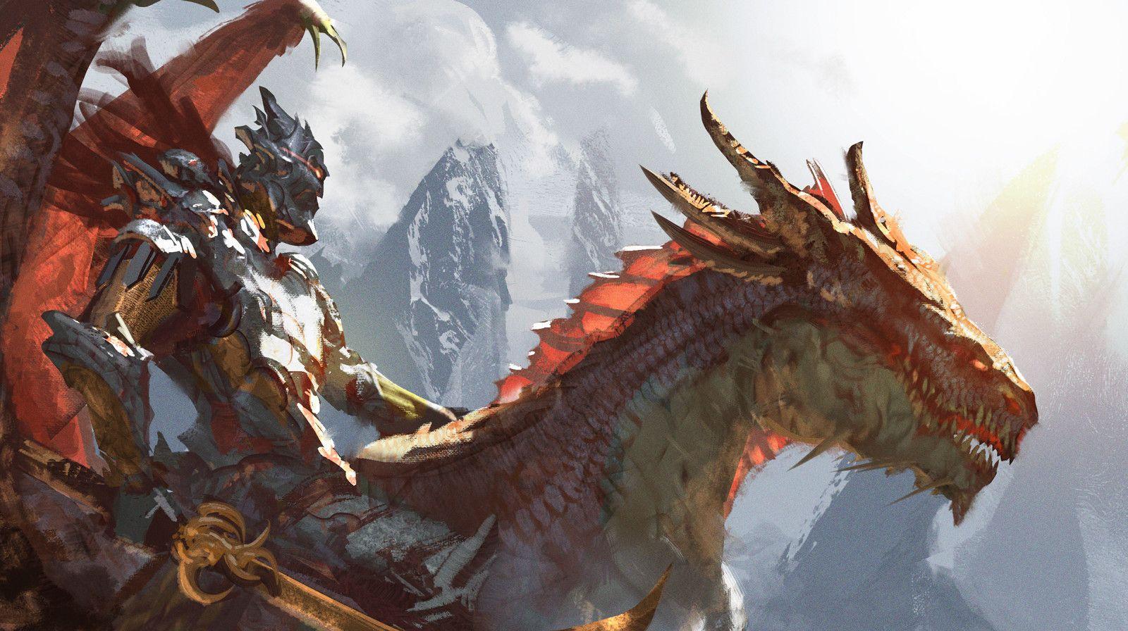 95/100 - Wyrm Rider , Sebastian Horoszko on ArtStation at  https://www.artstation.com/artwork/Z9PJX | Fantasy dragon, Dragon artwork,  Creature concept art