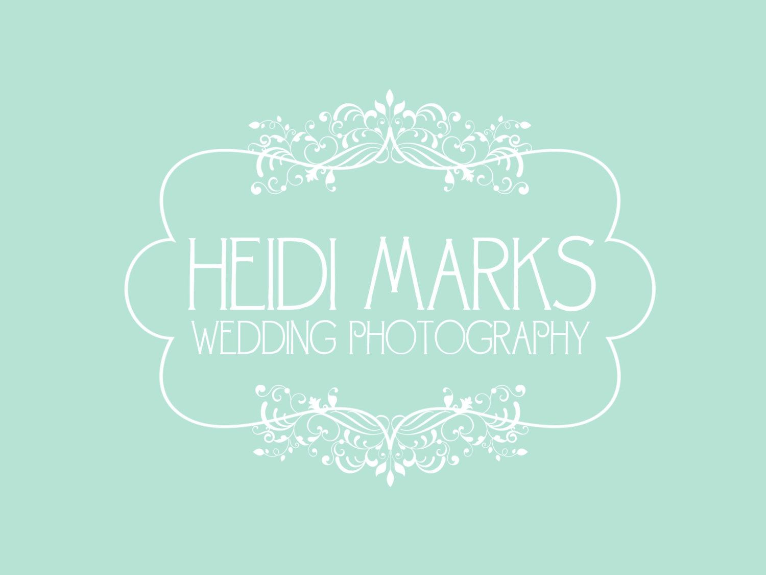 Premade Logo and Watermark for Photographers and Small Crafty ...