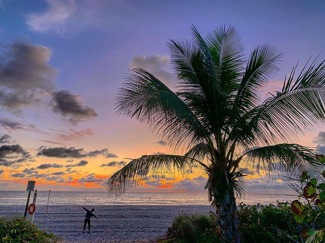 #goodmorning#miami#sunrise#pictureoftheday#fitness#fitnessmotivation
