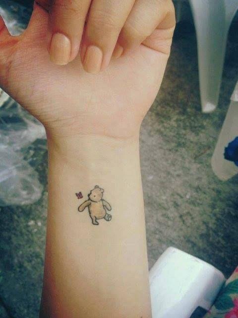 Winnie The Pooh Tatu Tatuaże Tatuaż I Pomysły Na Tatuaż