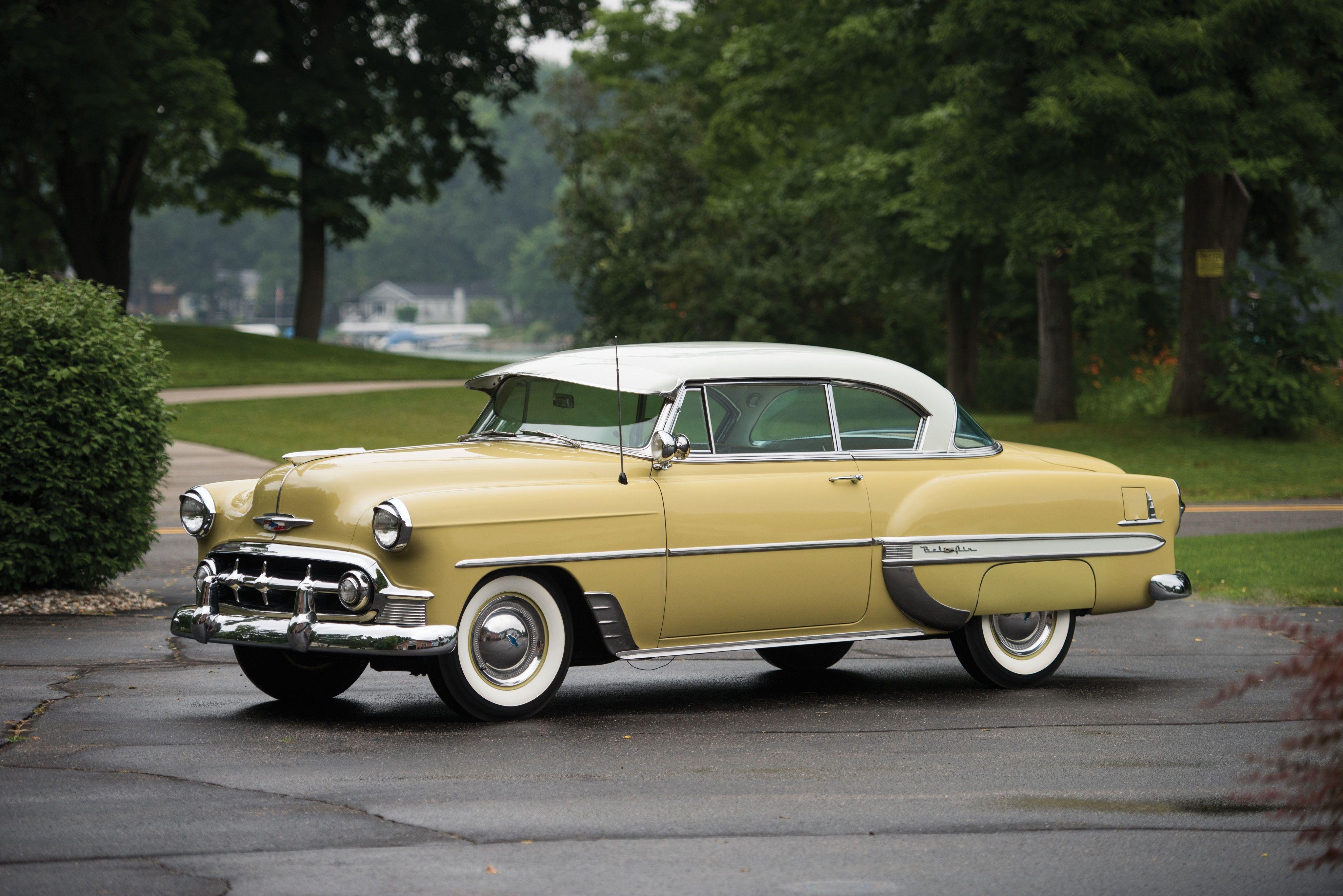 1954 chevrolet 4 door belair cars pinterest chevrolet chevrolet bel air and bel air