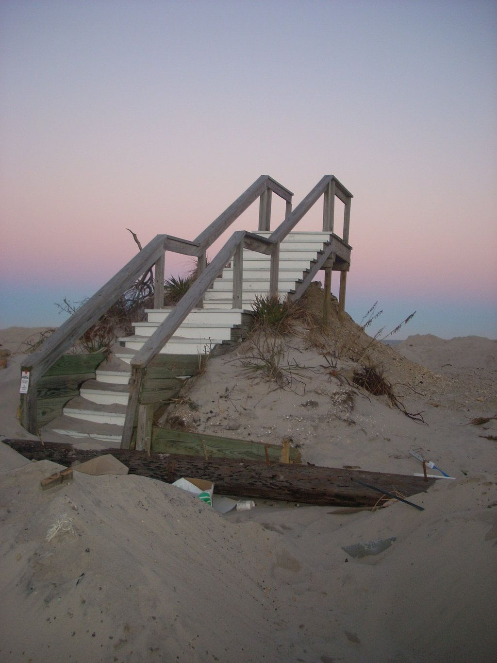 Stairway To Nowhere Normandy Beach Nj Taken By Michele Murphy Brick Mmle Deviantart On
