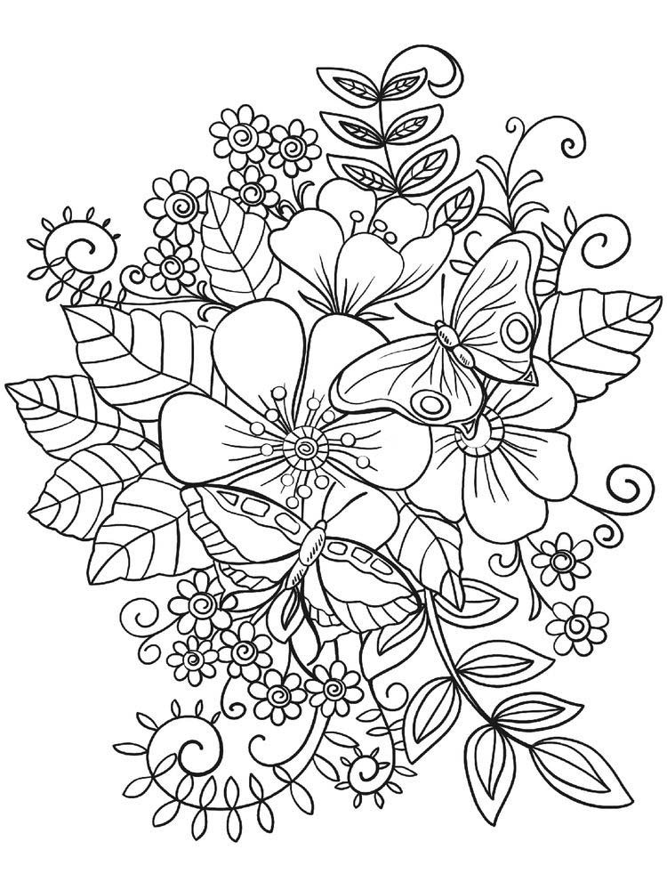 Pin Auf Plants Coloring Pages Collection