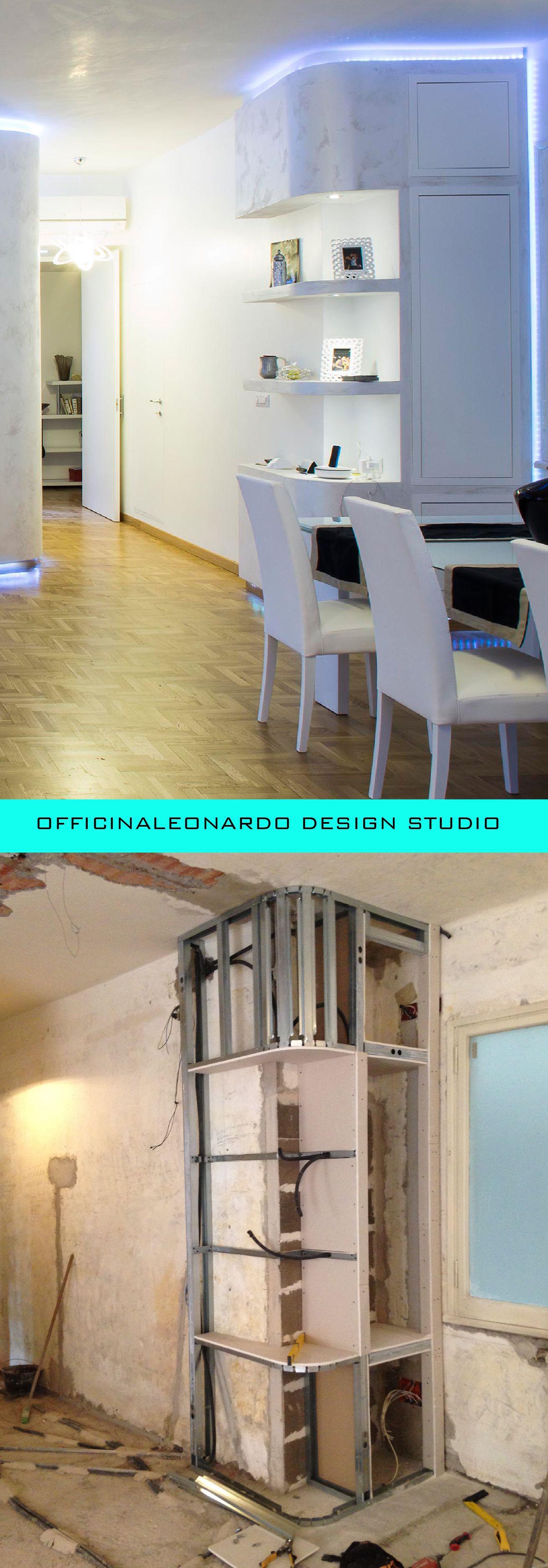 Ristrutturazione di un appartamento ottimizzando lo spazio