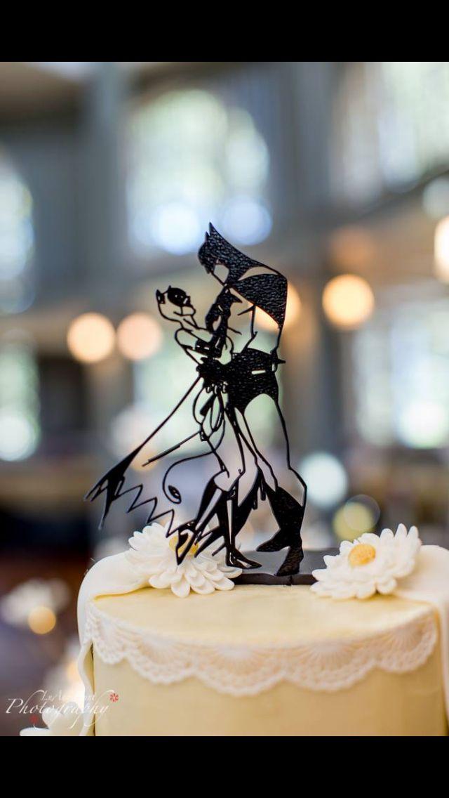 Batman and Catwoman wedding cake topper | Wedding | Pinterest ...