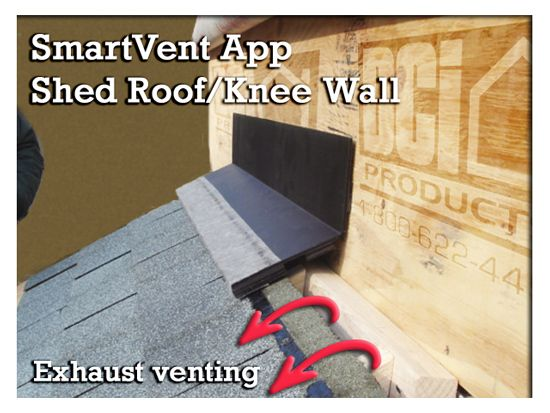 Shed Roof Roof To Wall Dci Products Shed Roof Roof Vents Roof
