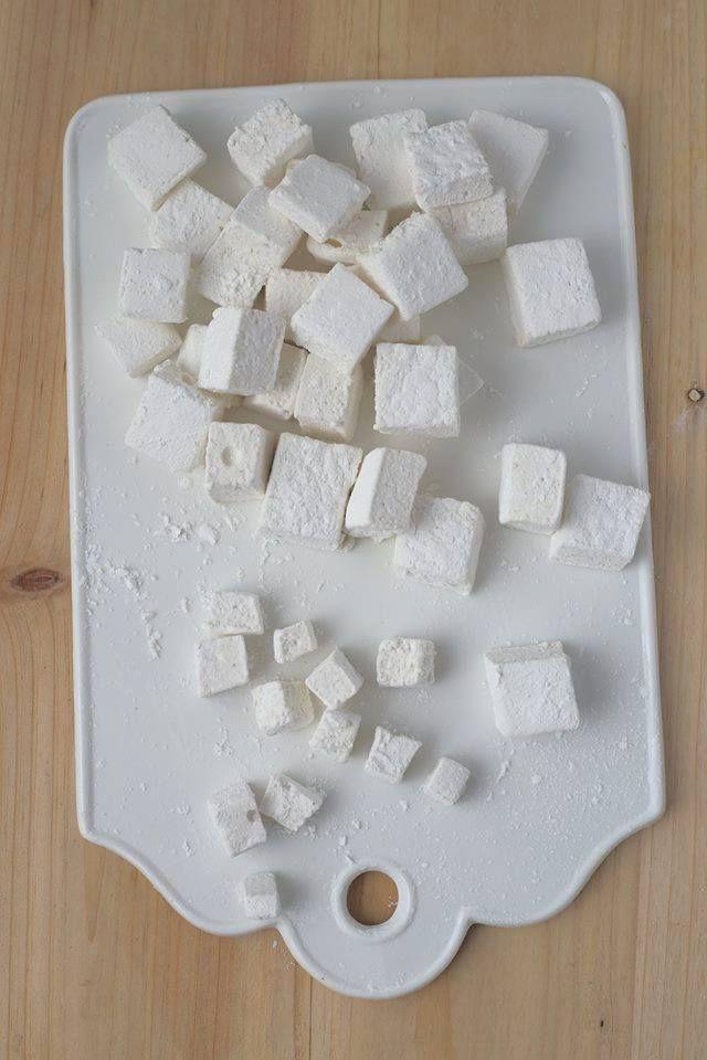 Vegan marshmallows using aquafaba #veganmarshmallows Vegan marshmallows using aquafaba #veganmarshmallows