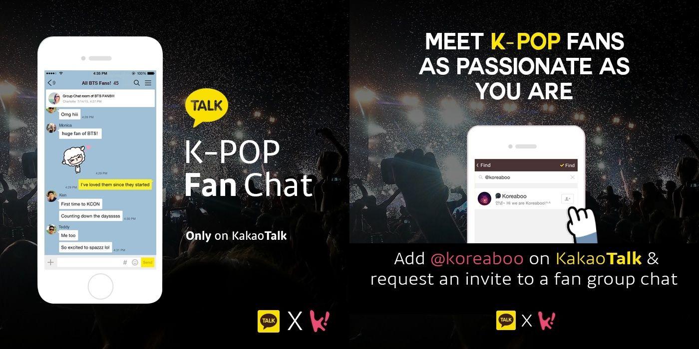 Kakaotalk Launches K Pop Fan Chats Win Exclusive Autographed Items Kpop Pop Autograph