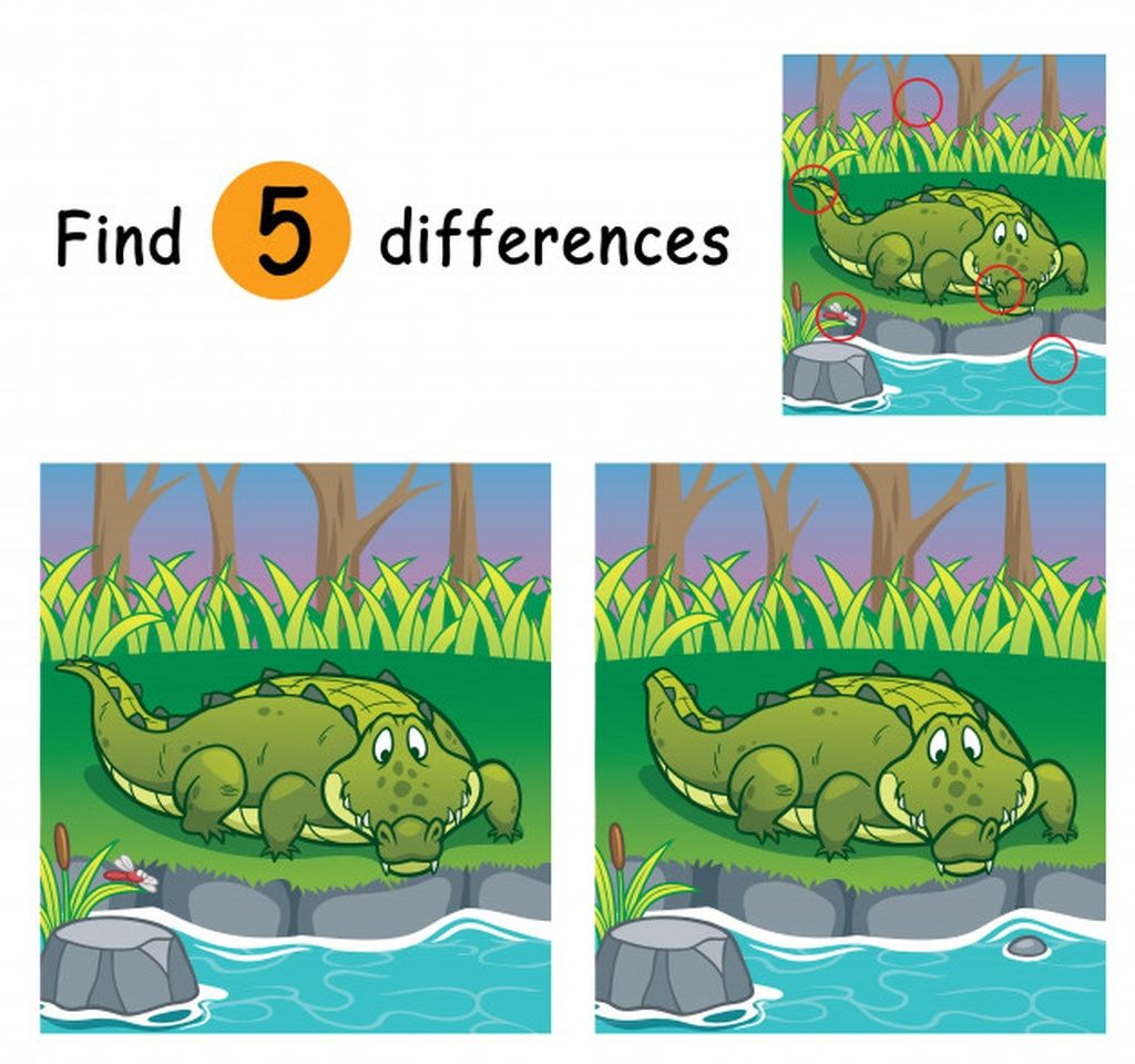 Game For Children Find Differences Paid Sponsored