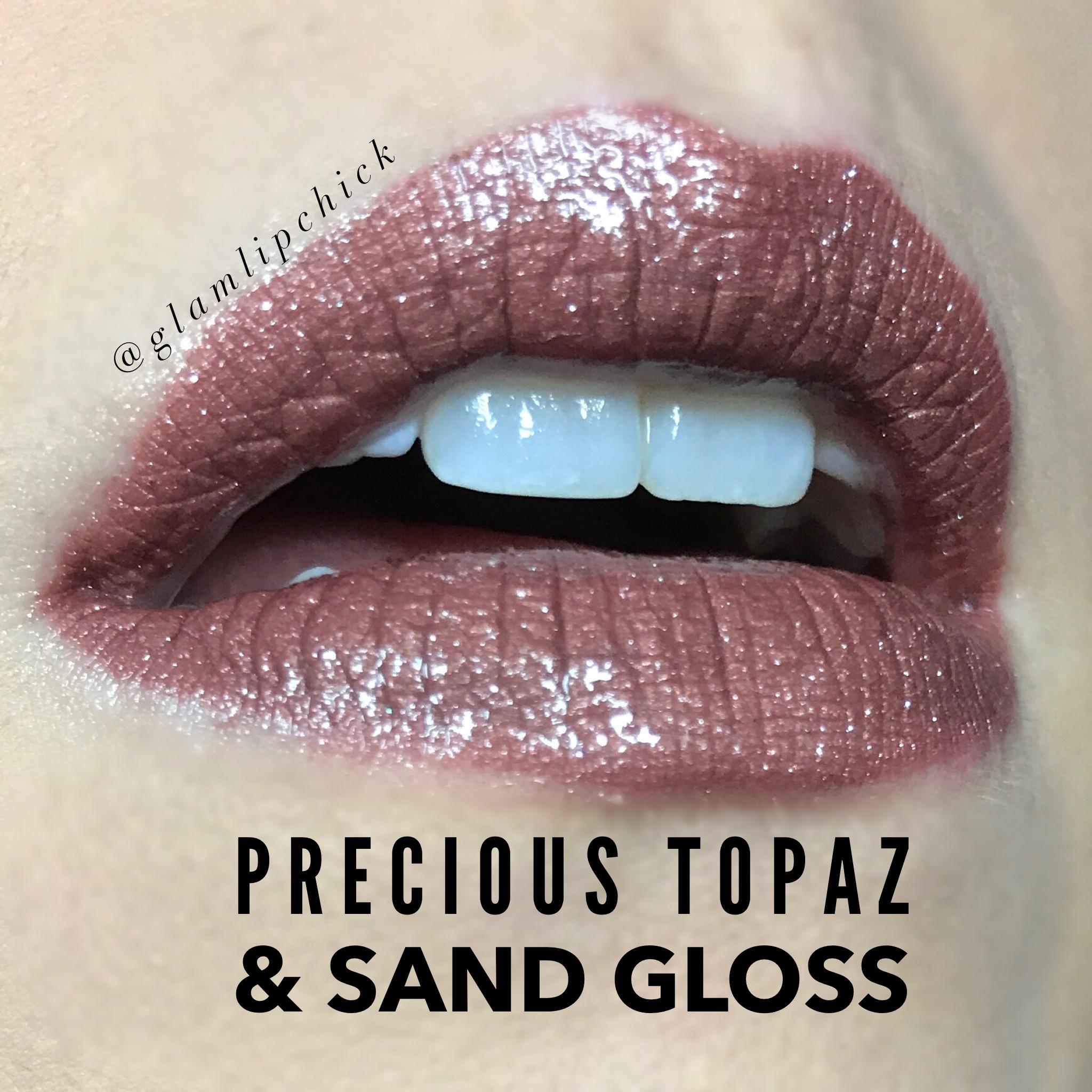 Precious Topaz Lipsense Always Free Shipping At Wwwglamlipchickcom #Precioustopaz #Lipsense