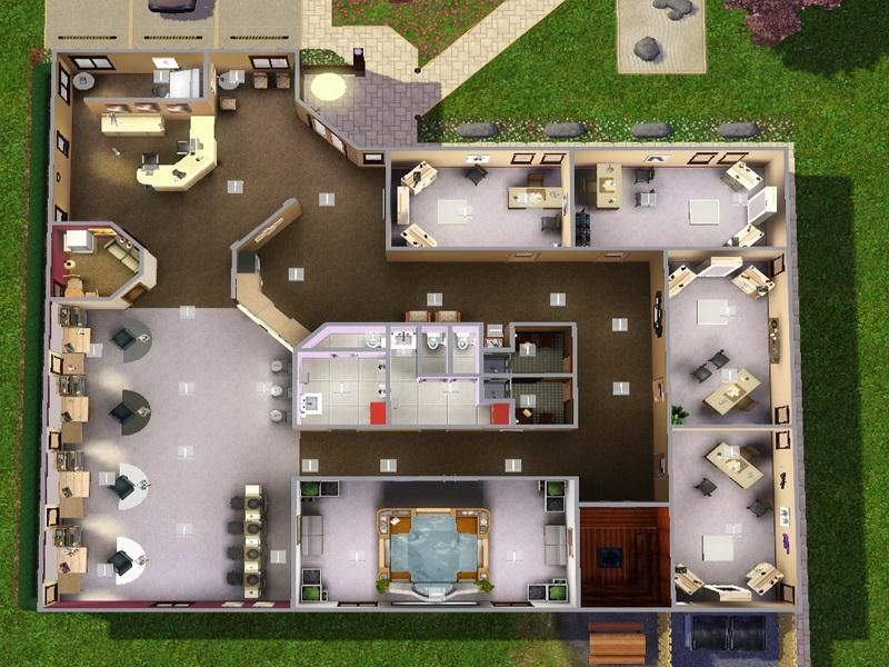 day spa floor plans | minnesota spa resort cragun's resort on gull