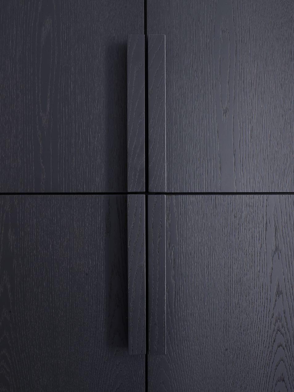 Piet Boon Styling By Karin Meyn Black Wooden Cabinet Detail
