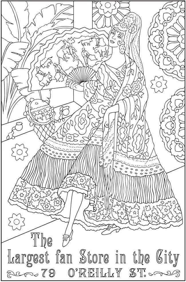 Pin de Małgorzata Kitka en Coloring pages to print - Woman ...