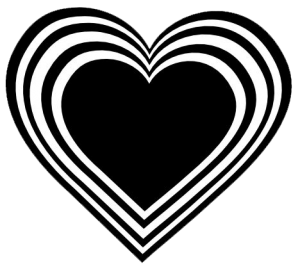 999 Heart Clipart Black And White Free Download Cloud Clipart Black And White Heart Black And White Flowers Black And White Drawing