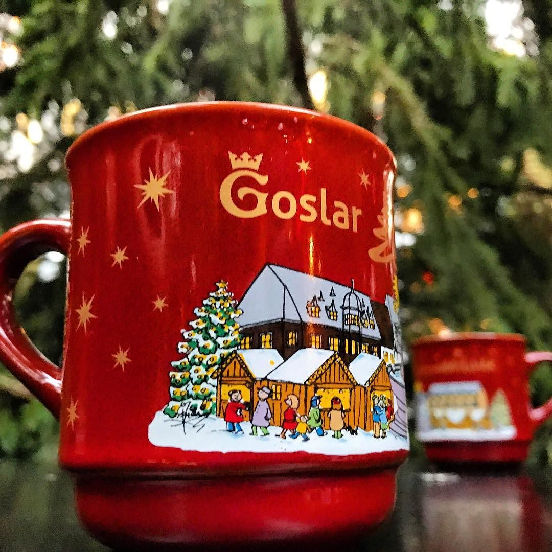 Kicking Off The German Christmas Market Weekend With A Nice Hot Mug Of Gluhwein At The Goslar Market German Christmas Markets Christmas Market German Christmas