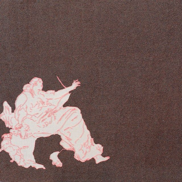 #sabineboehl  #naechstststephan Sabine Boehl traces, 2009, Glasperlen auf Leinwand, 93,5 x 114 cm © Sabine Boehl, VG Bild-Kunst Courtesy Galerie nächst St. Stephan Rosemarie Schwarzwälder, Wien