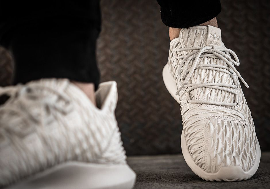 adidas Tubular Shadow Quilted Beige BB8820   SneakerNews.com ...