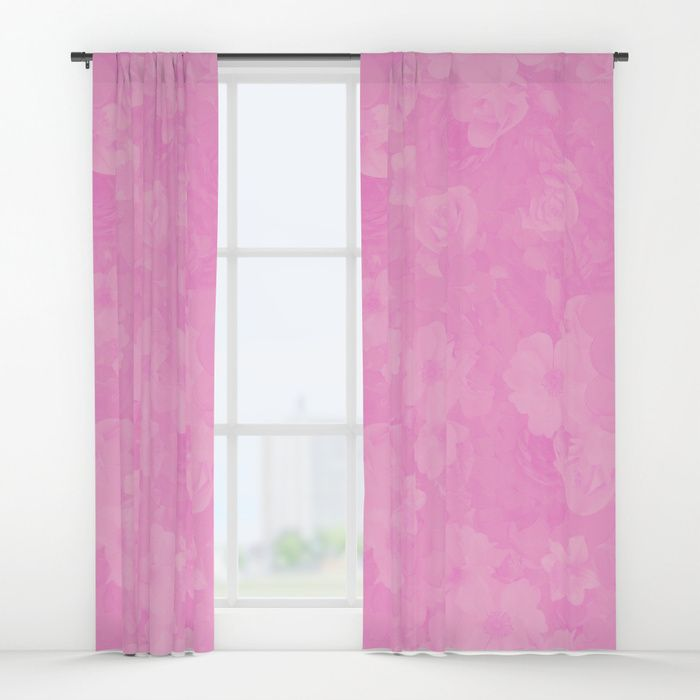 PINK MUSIC Window Curtains #pink #curtain #curtaions #interior ...