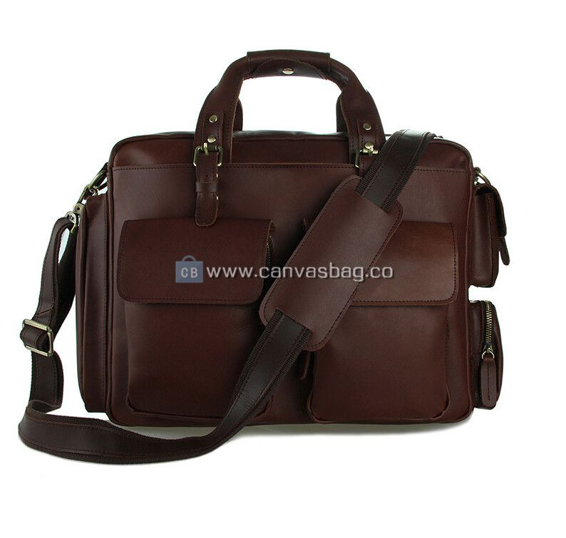 61dfc530f3 Leather Laptop Messenger Bags - Canvas Bag Leather Bag CanvasBag.Co