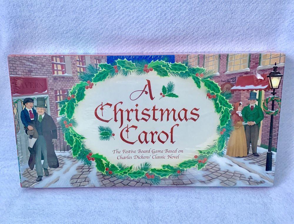 A Christmas Carol Charles Dickens Board Game Victorian Era NEW Sealed #TheAshGrovePressInc ...