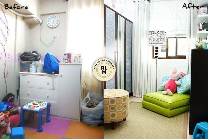 5 Small Space Makeovers from 5 to 30 Square Meters | Small spaces ...