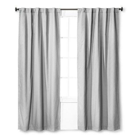 Twill Light Blocking Curtain Panel Lavender Pillowfort