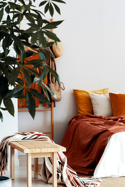 Jesienna Sypialnia Home Bed Sheets