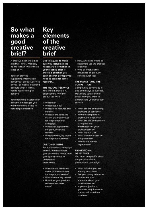 creative brief design