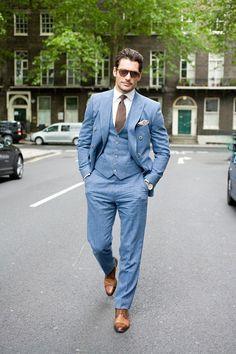 5f87cb20488a4a3065428d1065bcc76e.jpg (236×354) | powder blue suits ...