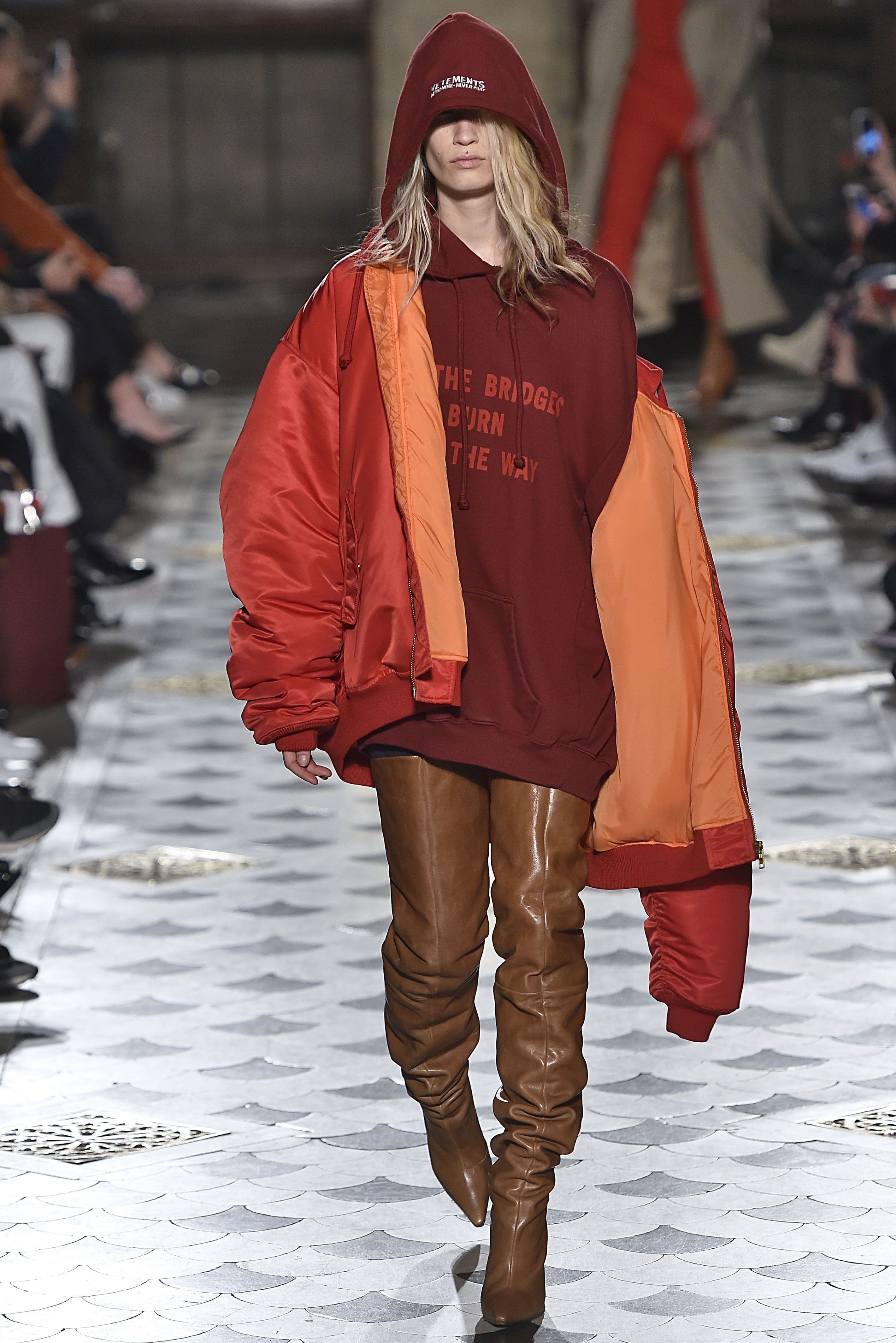 These References In The Vetements Show Look Eerily ...