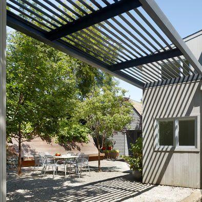 Steel Pergolas Design Ideas Pictures Remodel And Decor Outdoor Pergola Pergola Designs Modern Pergola