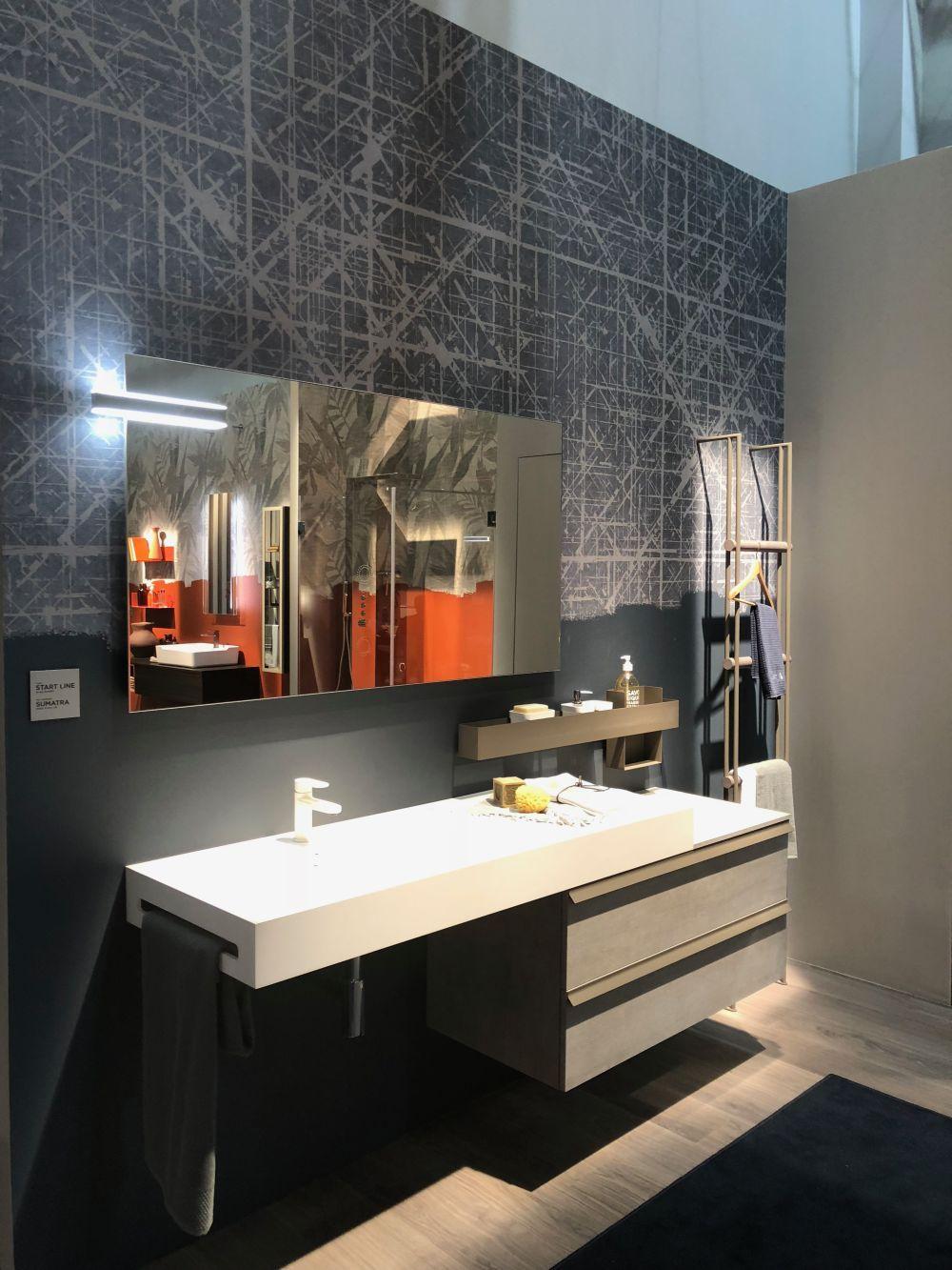 gray bathroom walls - HD1000×1333