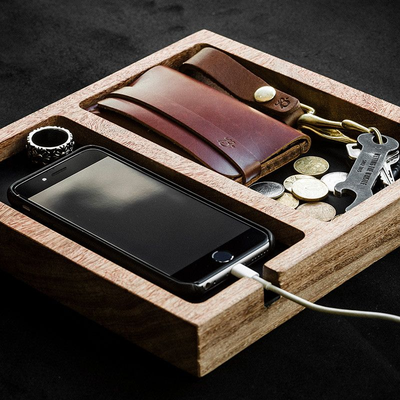067d0dfd8a EDC Table Tray - LIMITED WOOD SERIES   Cumaru Edition - BRAVEMAN LEATHER  GOODS