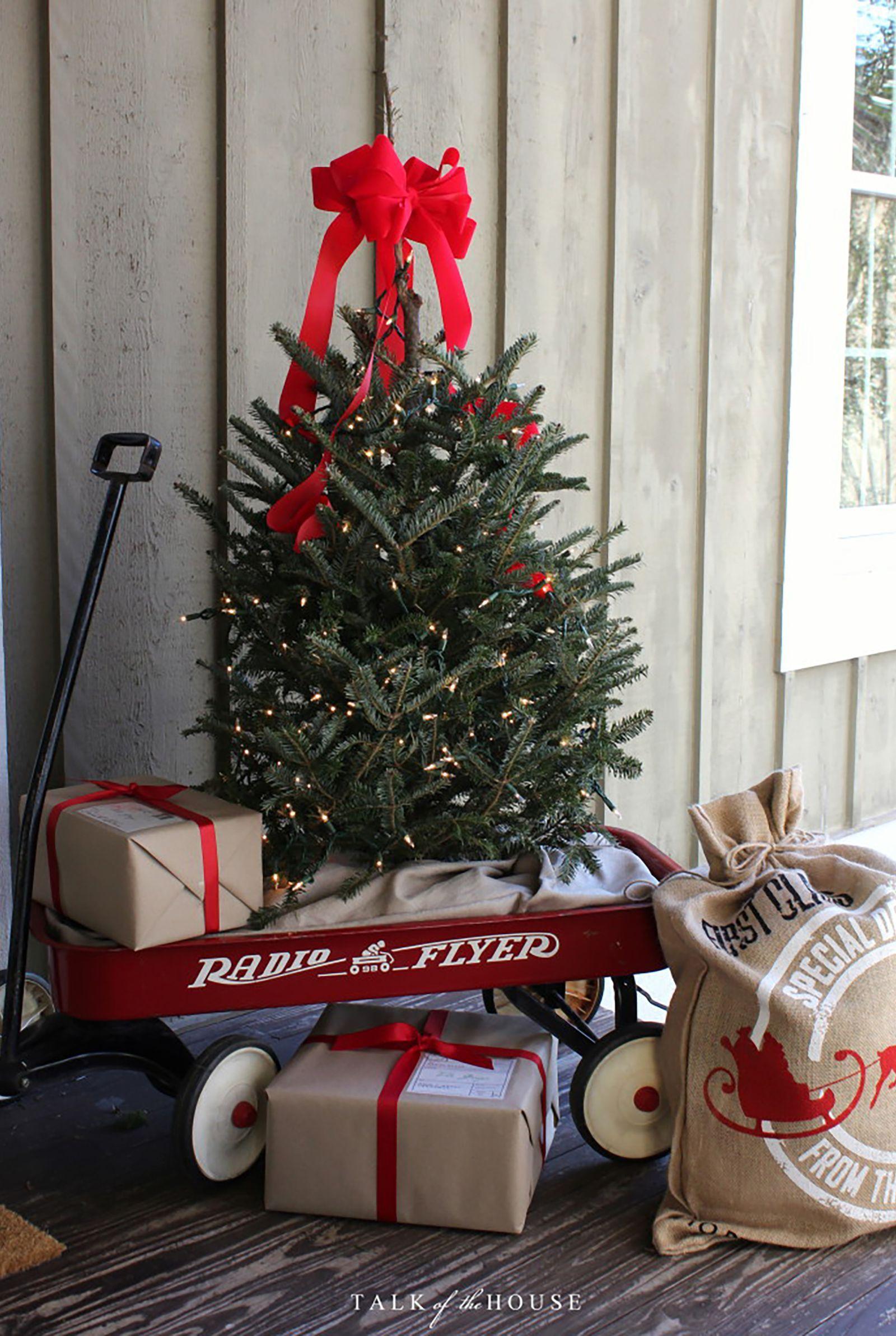 christmas tree wagon countryliving