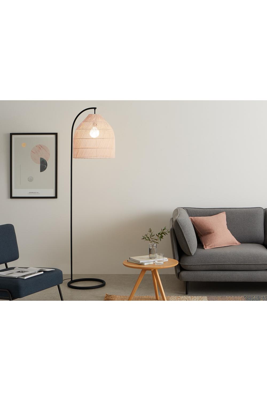 Java Stehlampe, Rattan | made.com