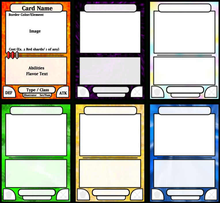 Board Game Card Template Free Samples , Examples