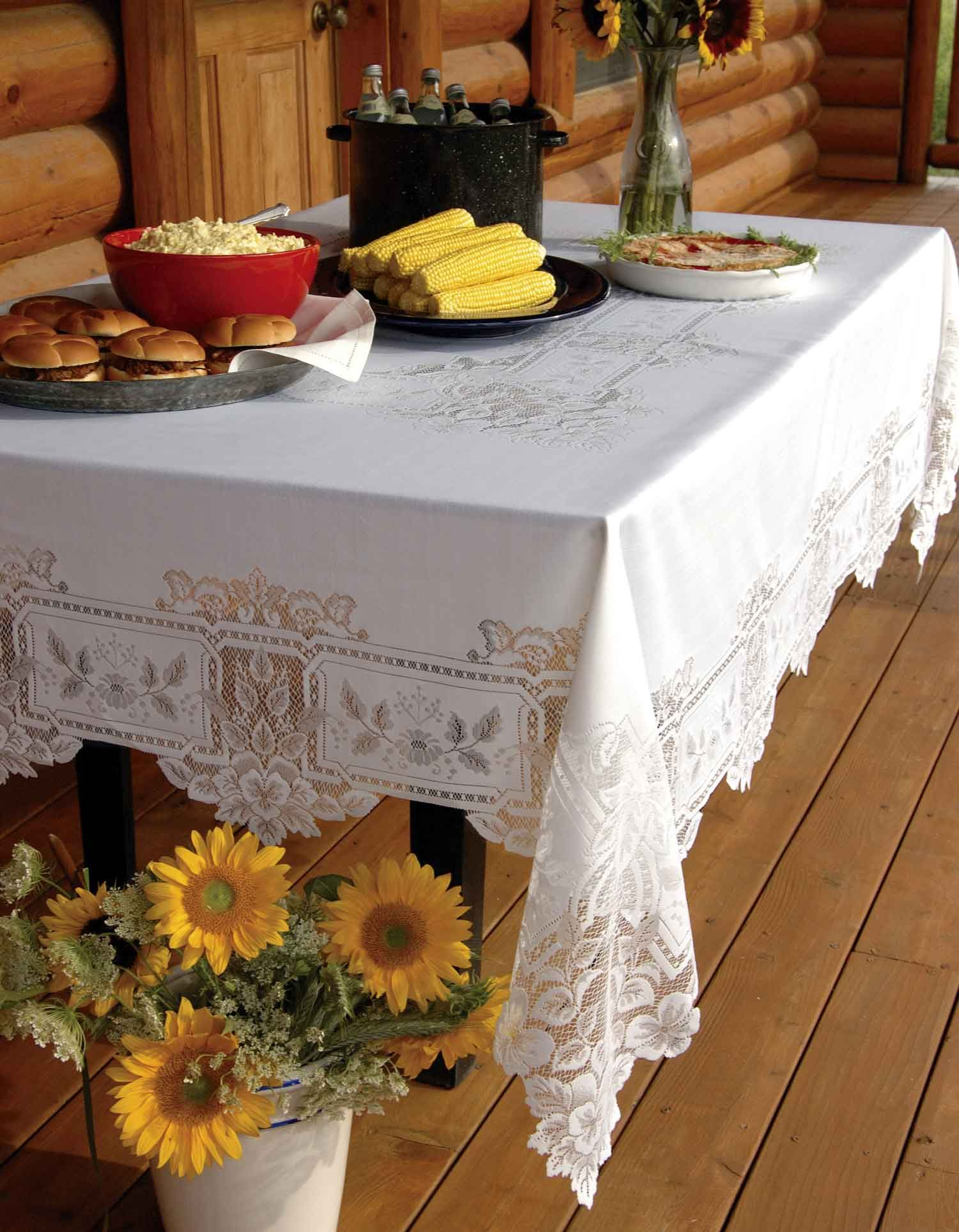 Table Cloths are an important element in any room décor