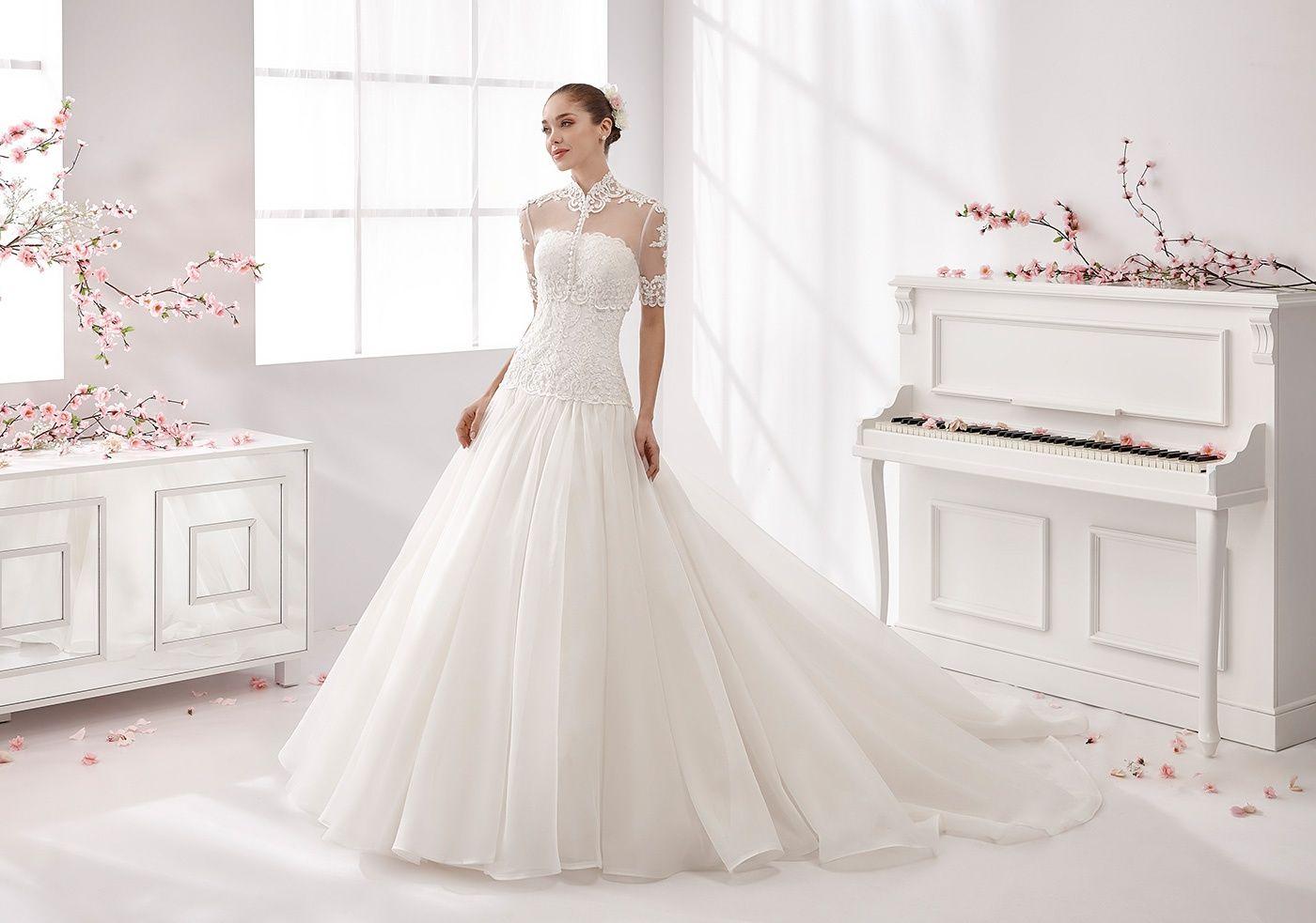 Moda sposa 2016 - Collezione AURORA.  AUAB16956. Abito da sposa Nicole.