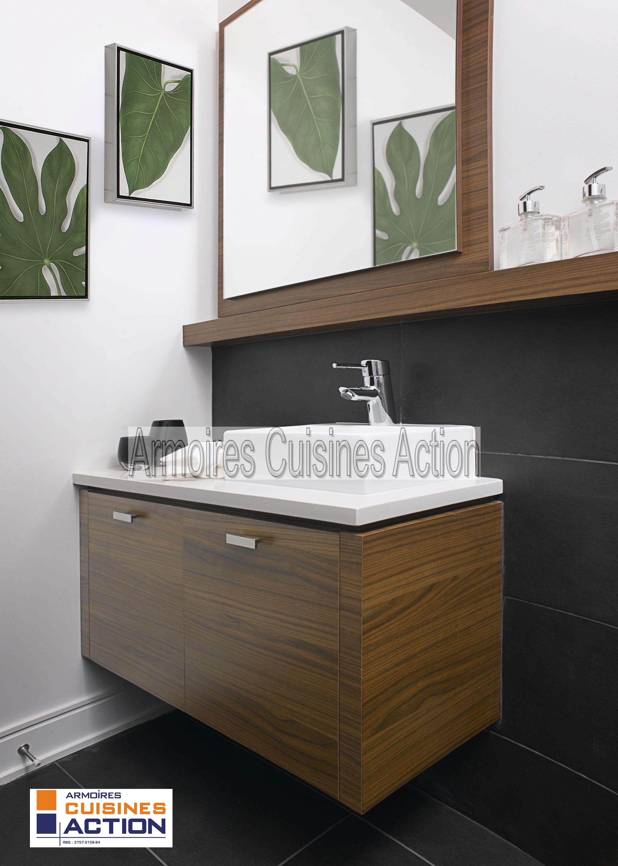 Salle De Bain Avec Douche Et Baignoire D'Angle ~ petite salle d eau mais tellement chaleureuse armoires cuisines