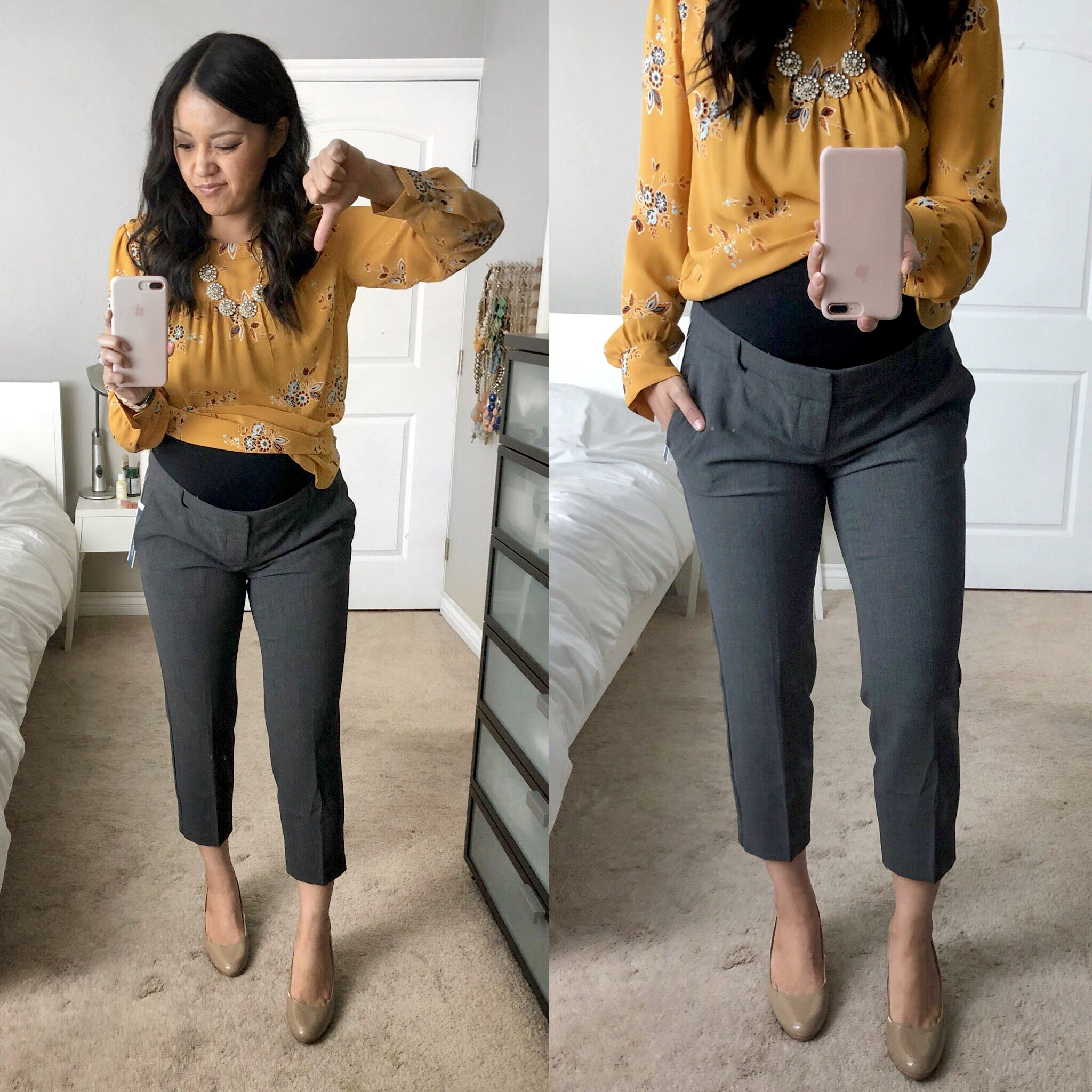 2d6788fd94a87 REVIEWS: Athletic and Athleisure Gear + Business Casual Maternity Pants,  Jeans, and More!