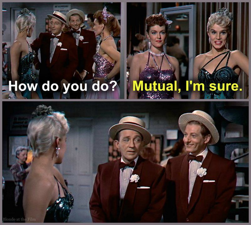 White Christmas Danny Kaye and Bing Crosby Movie Quotes