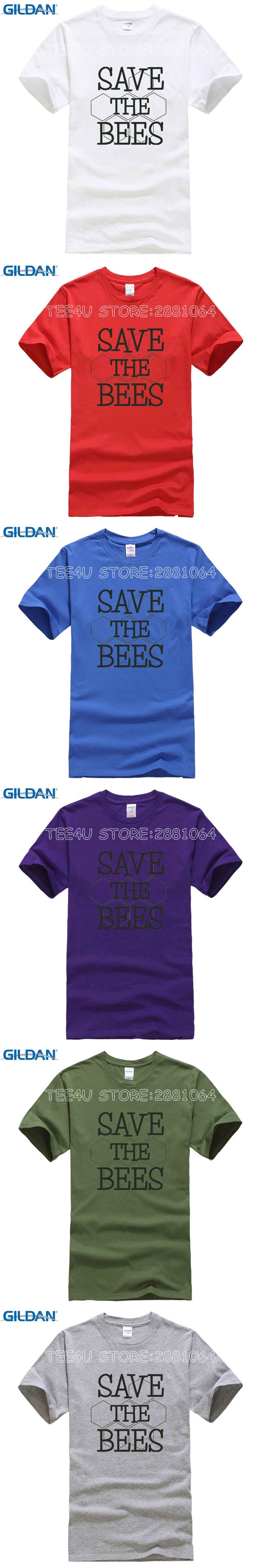 Design Your Own T Shirt And Save It: Tee4U Design Your Own T Shirt Save The Bees Short O-Neck Office Tee rh:pinterest.com,Design