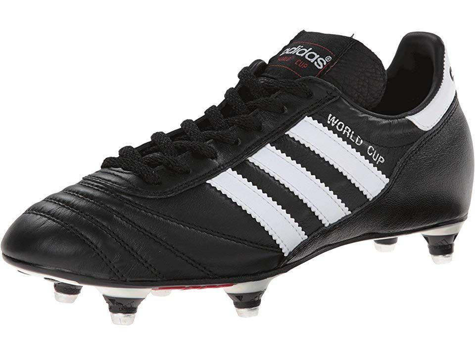 adidas Copa Mundial Mens FG Football Boots Black White US Mens 7 Womens 8