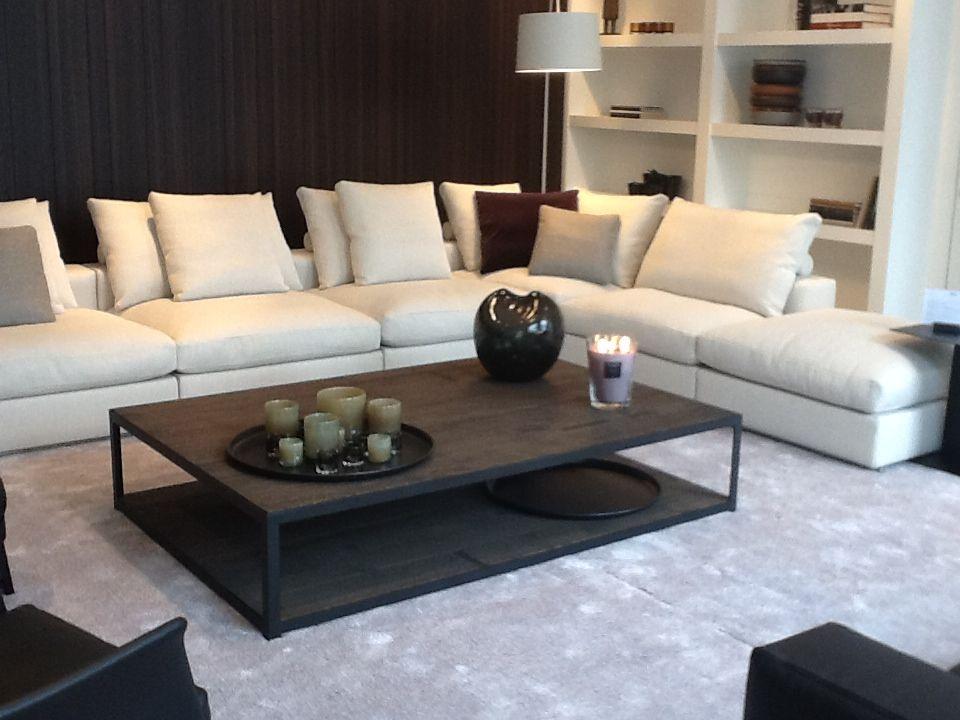 Two coffee table @ De Vos Interieur Flexform bank | Perhaps living ...