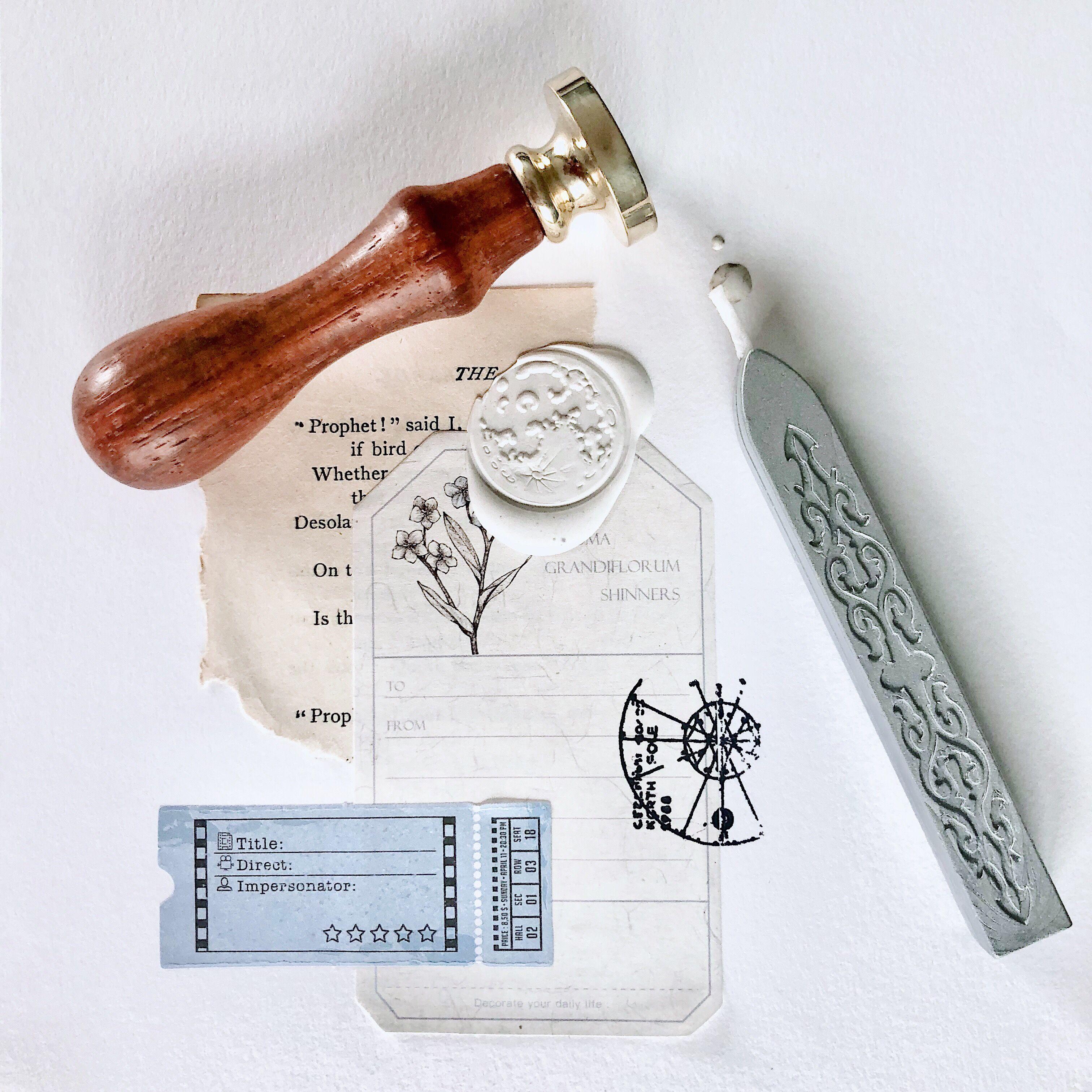 wax stamp Sealing wax stamp S1319 Totem Wax Seal Stamp sealing stamp