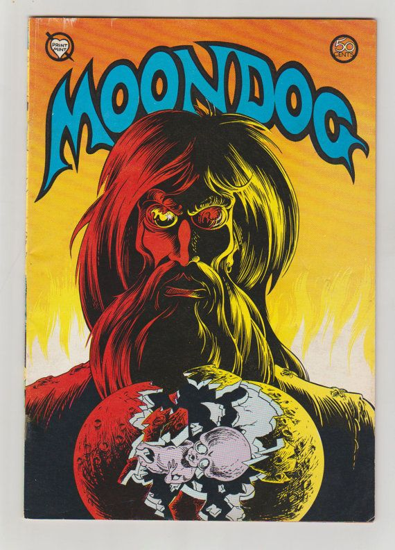 Moondog Vol 1 3 Bronze Age Comic Book. FN/VF. by RubbersuitStudios #moondog #georgemetzger #comicbooks