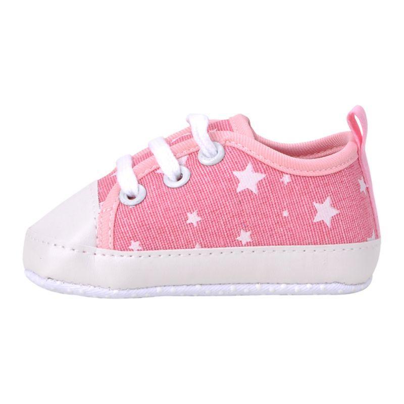 16e798bf87b41 Aliexpress.com  Compre 2016 novos meninos meninas bebê Canvas Lace Up  Sneakers Prewalker berço sapatos de sola macia de confiança bebê sapatos  formal ...