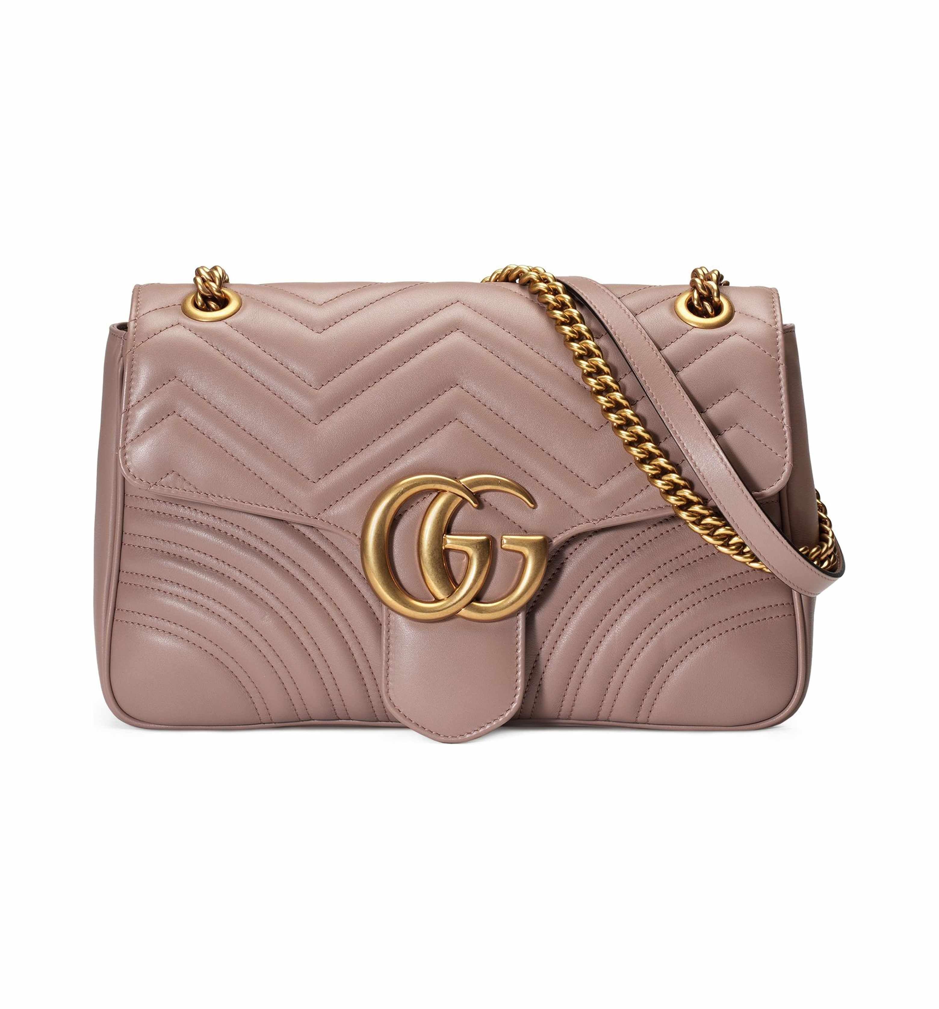 5407f7c33e65ca Main Image - Gucci Medium GG Marmont 2.0 Matelassé Leather Shoulder Bag
